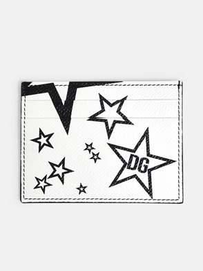 DOLCE & GABBANA - WHITE CARD HOLDER