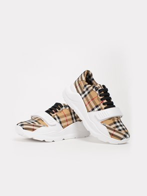 BURBERRY - CHECK SNEAKERS