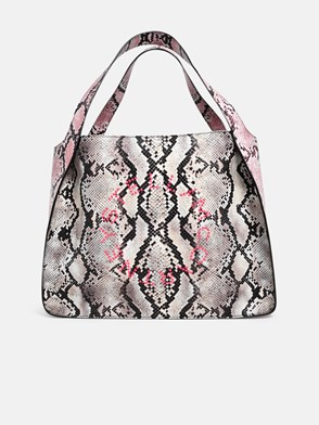 STELLA McCARTNEY - BORSA MULTICOLORE PITONATA