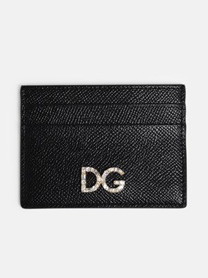 DOLCE & GABBANA - BLACK CARD HOLDER