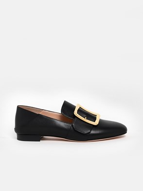 BALLY - MOCASSINO NERO