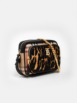 BURBERRY - TRACOLLA CAMERA BAG LEO.CHECK