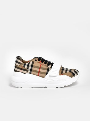 BURBERRY - SNEAKERS REGIS CHECK