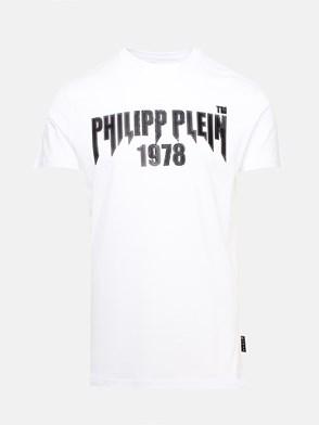 PHILIPP PLEIN - T-SHIRT ROUND NECK BIANCA