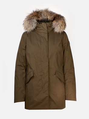 WOOLRICH - GIACCA VERDE
