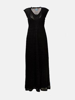 M MISSONI - BLACK LUREX DRESS