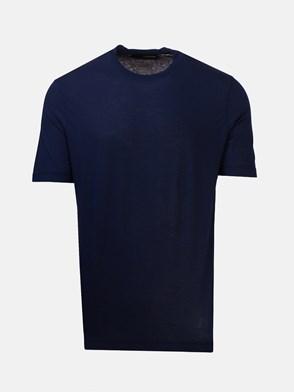 LARDINI - BLUE T-SHIRT