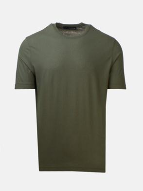 LARDINI - GREEN T-SHIRT