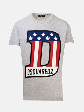 DSQUARED2 - HEATHER GREY T-SHIRT