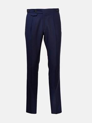 LARDINI - BLUE WOOL PANTS