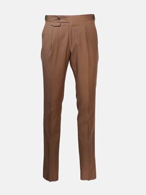 LARDINI - BROWN WOOL PANTS