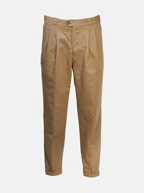 PT01 - BEIGE CARROT PANTS