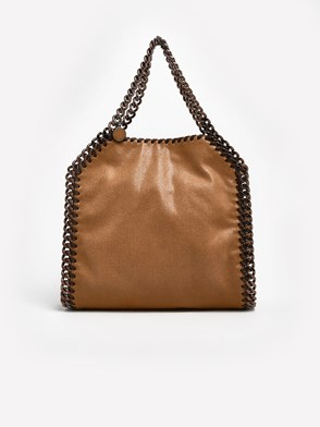 STELLA McCARTNEY - BORSA MINI SHAGGY BEIGE
