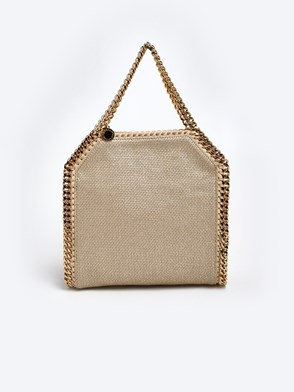 STELLA McCARTNEY - BORSA METALLIC BEIGE