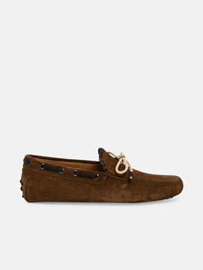 TOD'S - BROWN LOAFERS