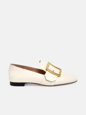 BALLY - IVORY JANELLE LOAFERS