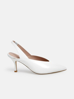 STUART WEITZMAN - WHITE AVIANNA PUMPS