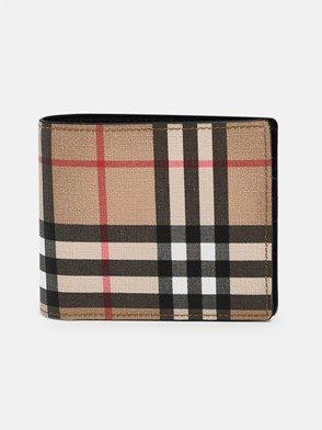 BURBERRY - CHECK RONAN WALLET