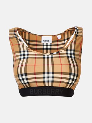 BURBERRY - TOP DALBY CHECK