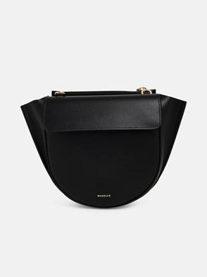 WANDLER - BLACK HORTENSIA BAG