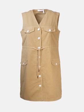 SEE BY CHLOE' - BEIGE DRESS