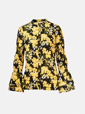 MICHAEL MICHAEL KORS - BLACK AND YELLOW SHIRT