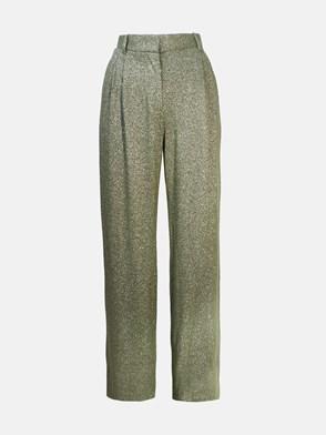 M MISSONI - GREEN LUREX PANTS