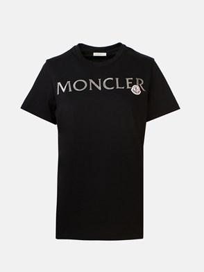 MONCLER - BLACK T-SHIRT
