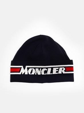 MONCLER - BERRETTO BLU