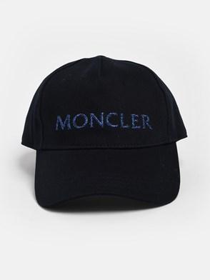 MONCLER - CAPPELLINO BLU