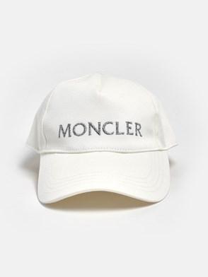 MONCLER - CAPPELLINO BIANCO