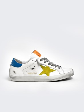 GOLDEN GOOSE DELUXE BRAND - SNEAKERS STELLA GIALLA BIANCHE
