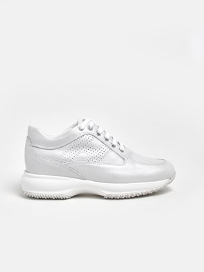 HOGAN - WHITE INTERACTIVE SNEAKERS