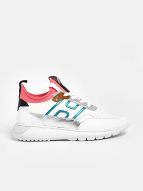 HOGAN - WHITE INTERACTIVE H371 SNEAKERS