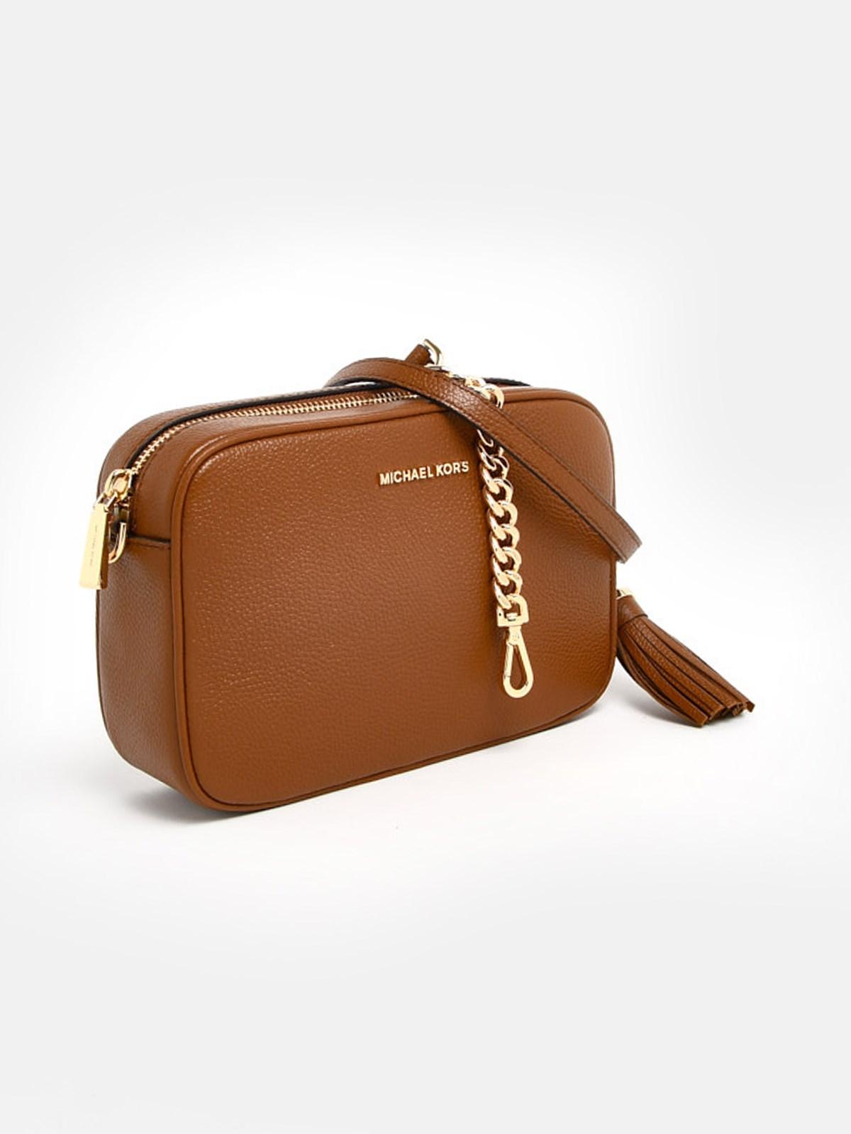 MICHAEL MICHAEL KORS Tracolla Camera Bag Md Marrone (size: TU)