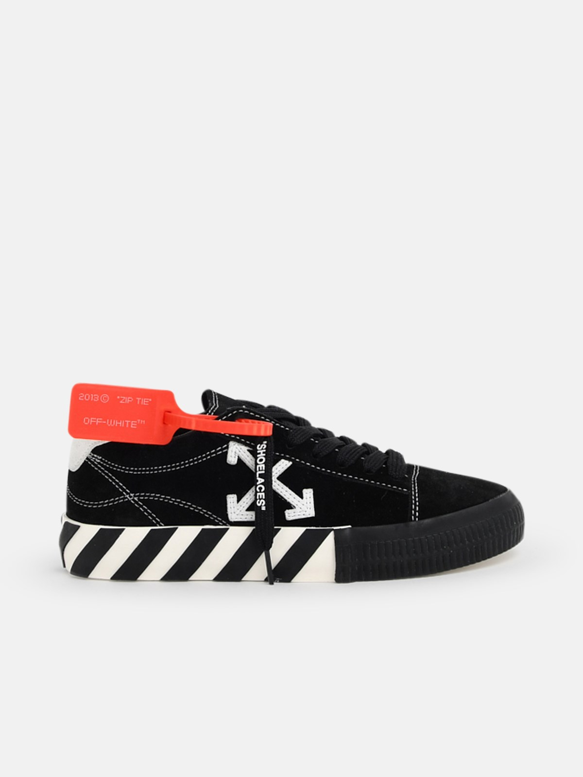 Off-White Leathers SNEAKER LOW VULCANIZED NERA