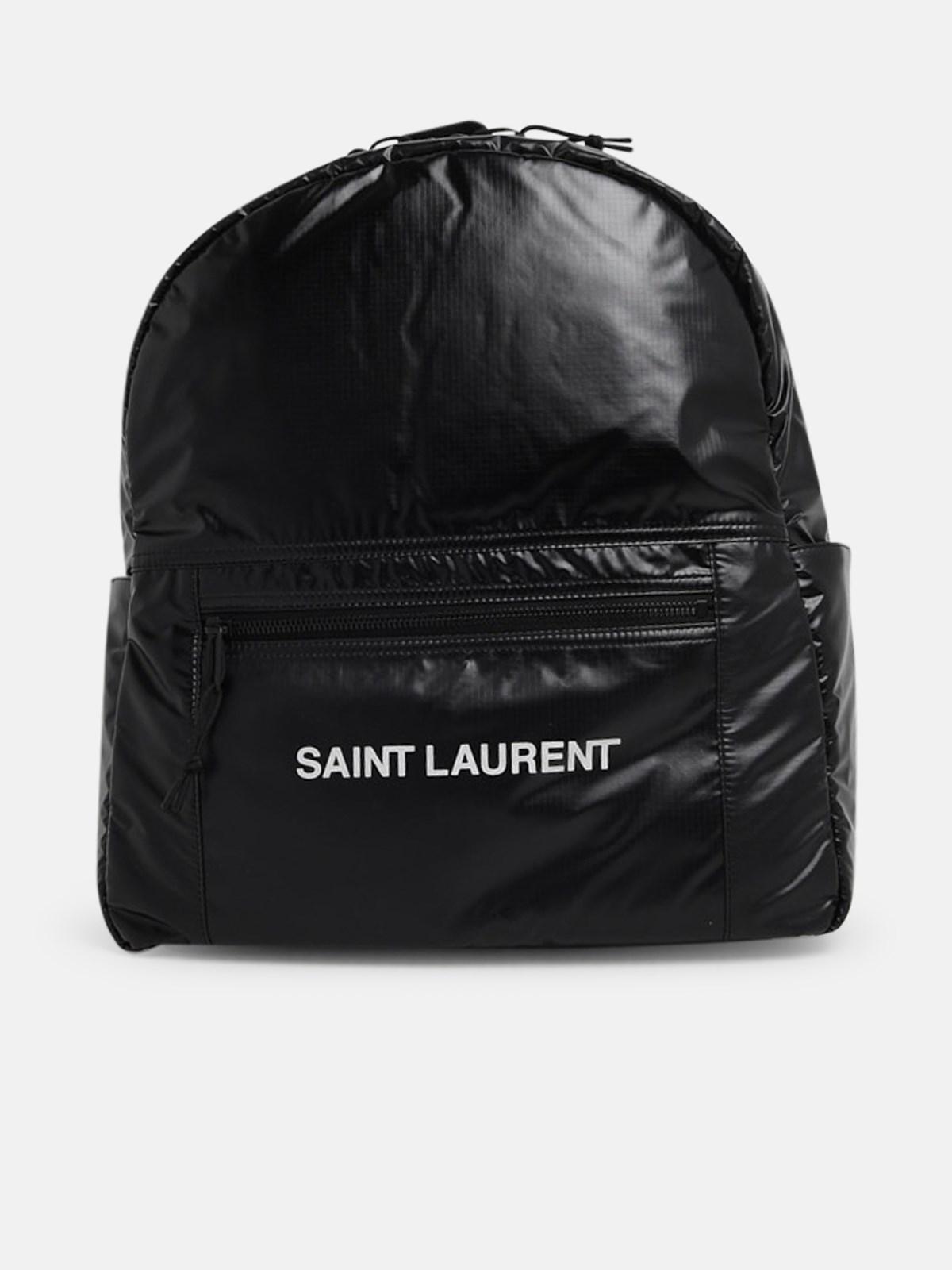 SAINT LAURENT BLACK NUXX BACKPACK