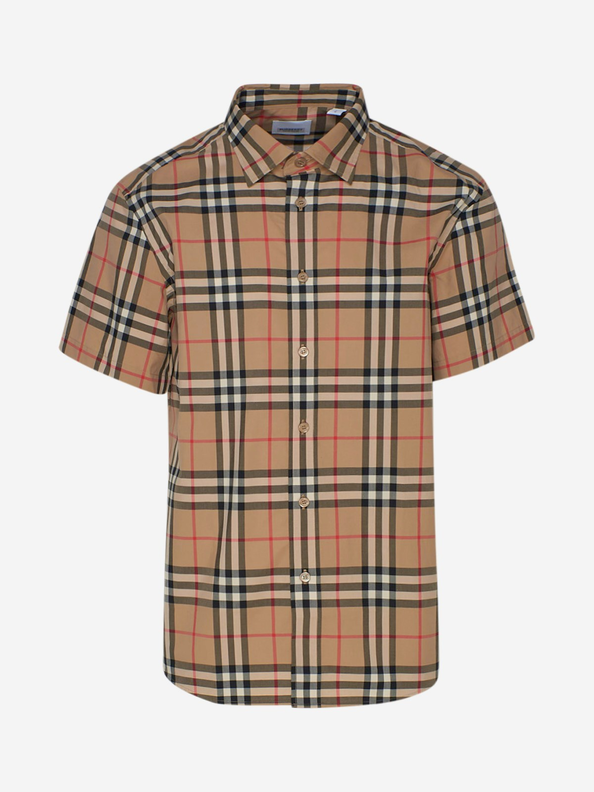 Burberry Tops CAMICIA CAXTON BEIGE