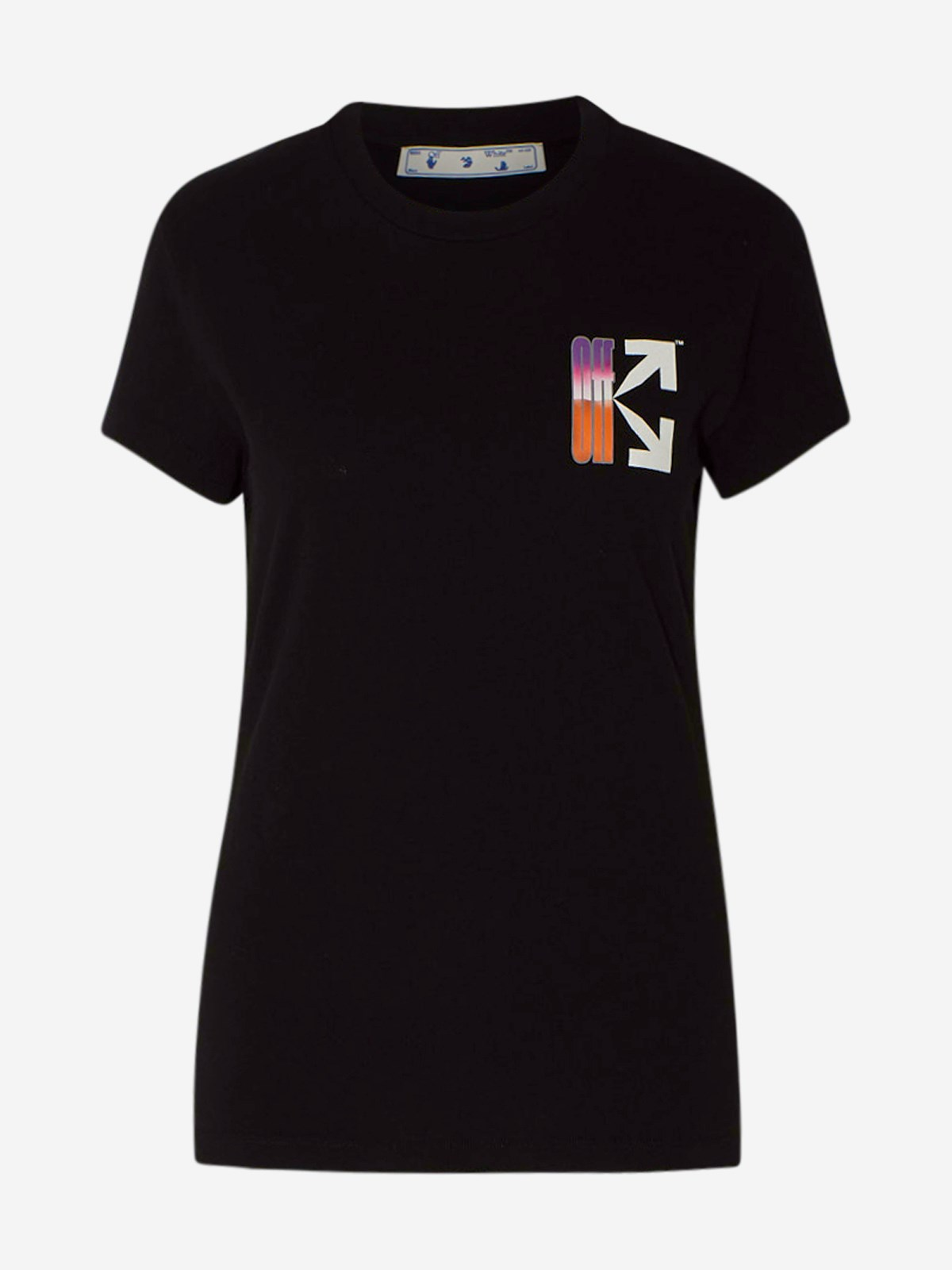 Off-White T-shirts T-SHIRT GRADIENT NERA