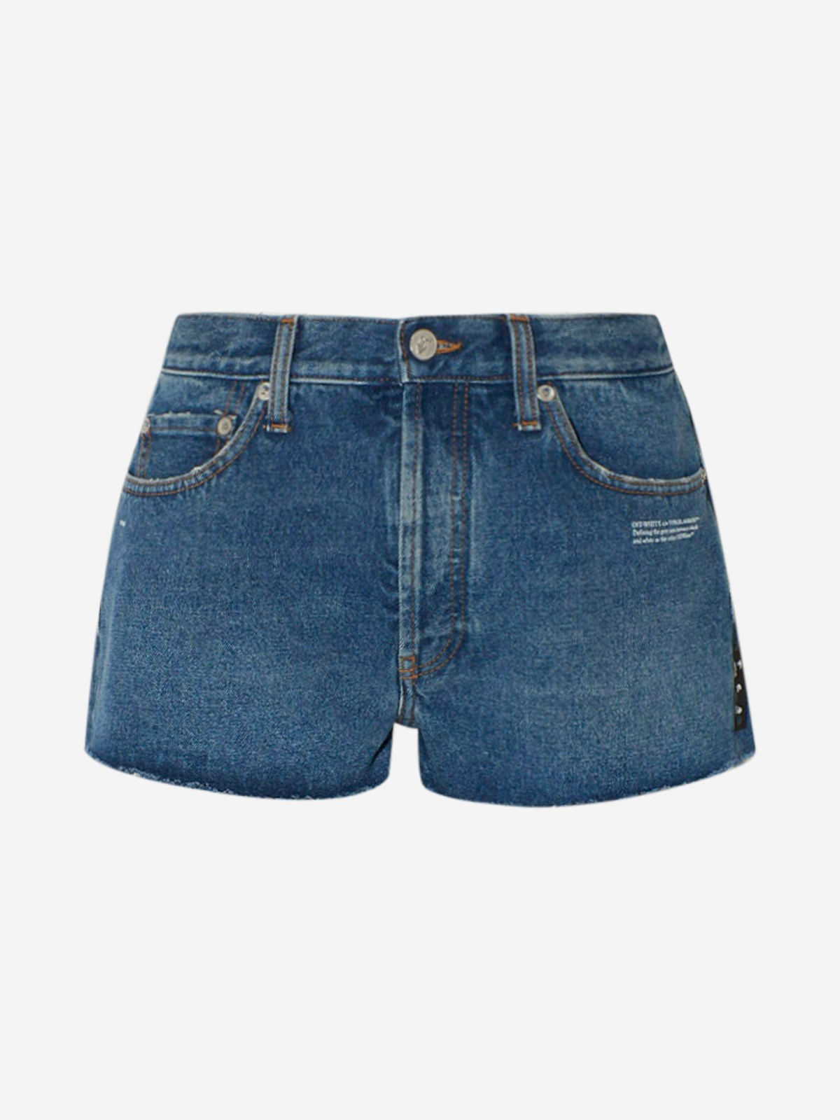 Off-White Jeans SHORTS JEANS BLU