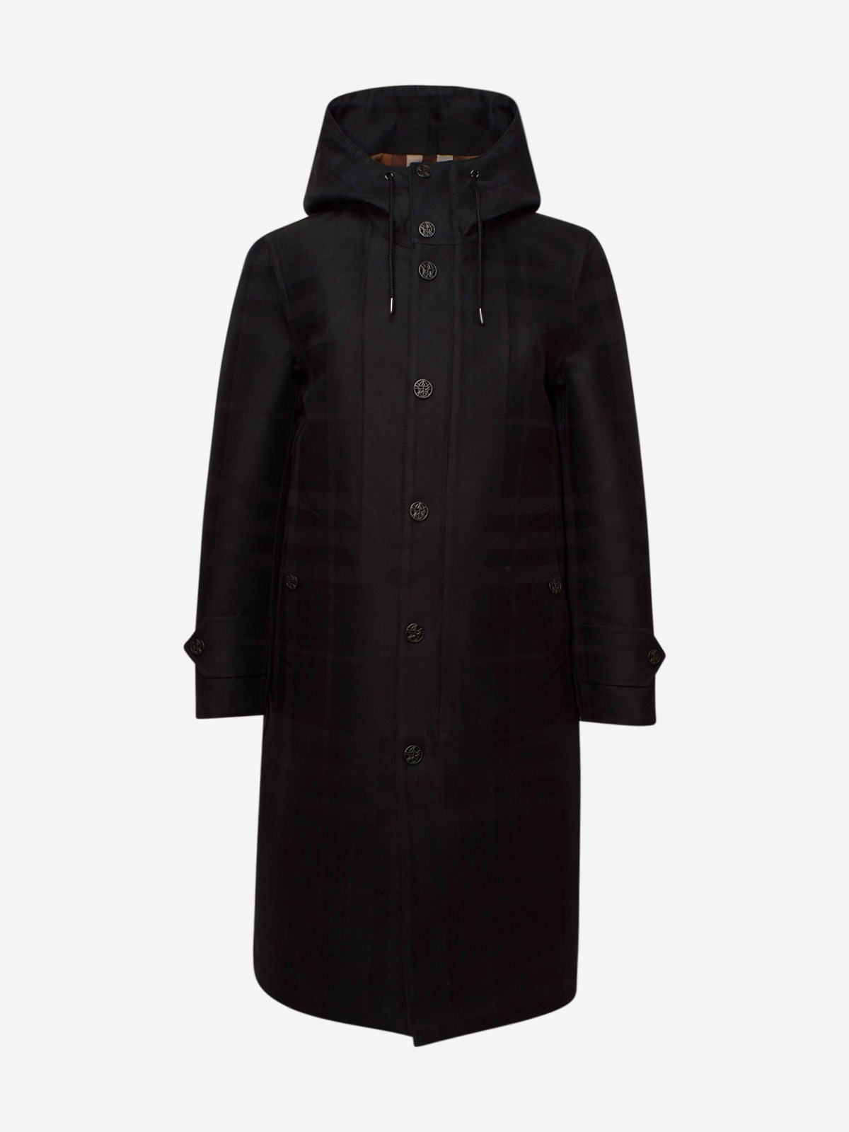 Burberry TRENCH WITHAM CHECK NERO