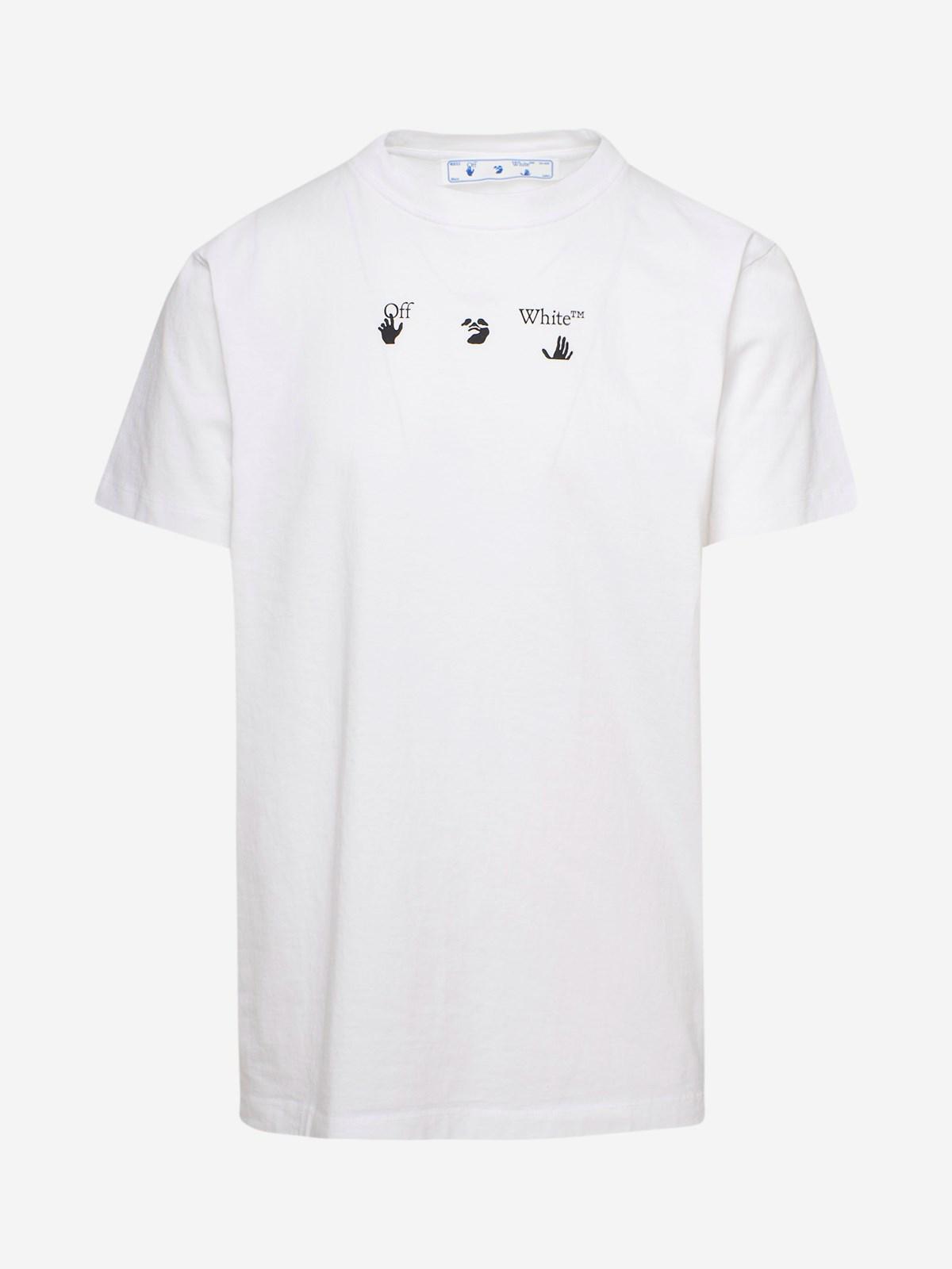 Off-White T-SHIRT BOLT ARROW BIANCA