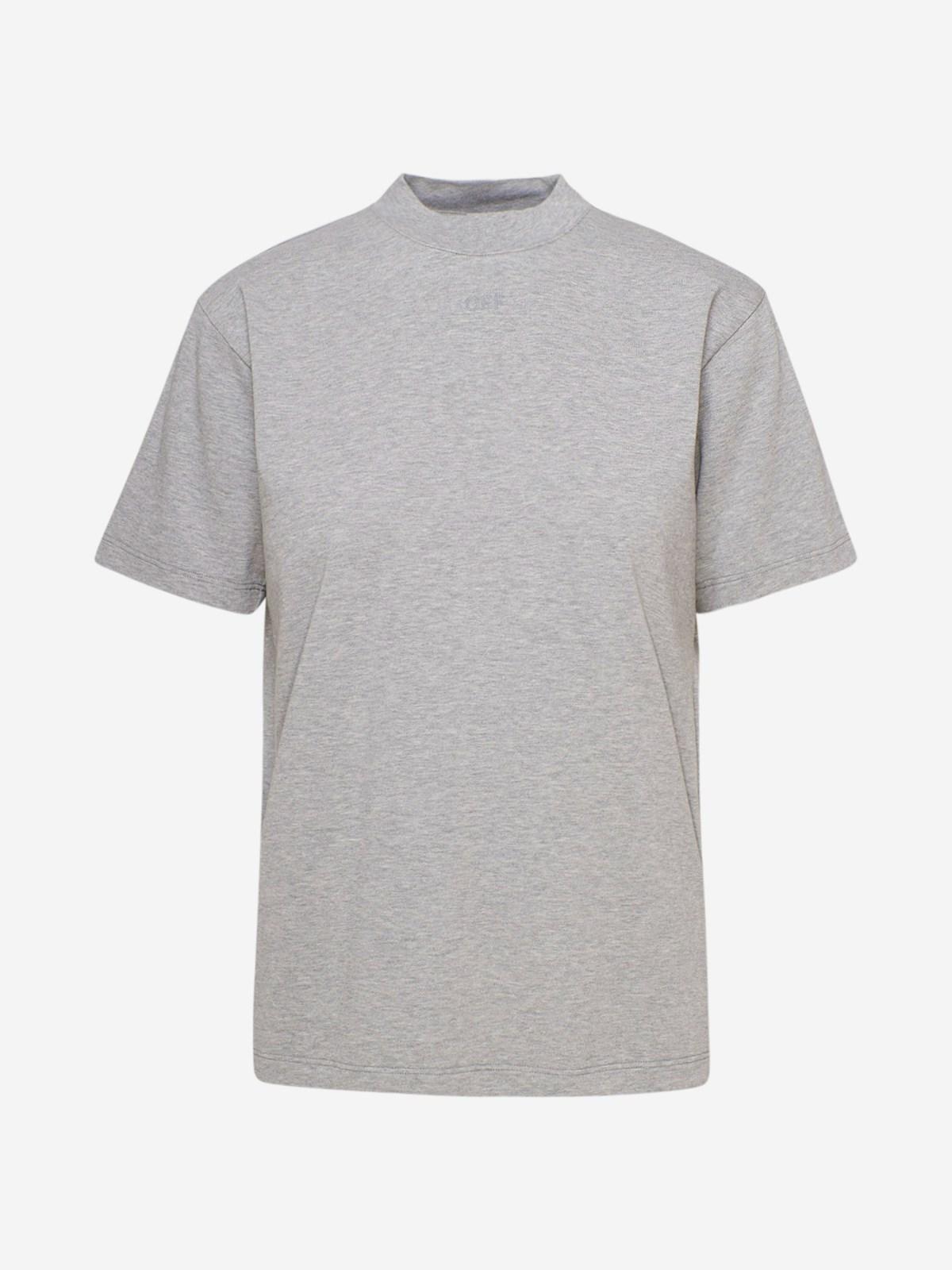 Off-White T-SHIRT ARROW CASUAL GRIGIA