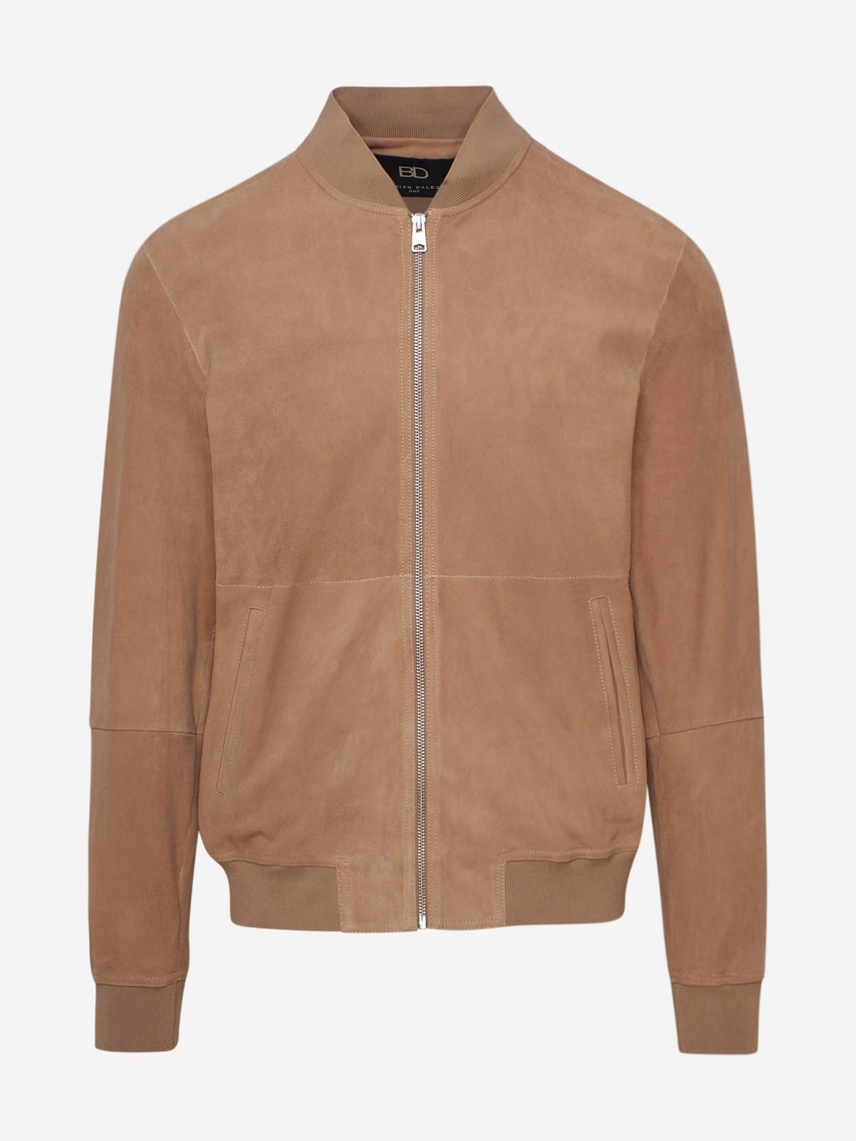 Brian Dales Bomber jackets BEIGE JACKET
