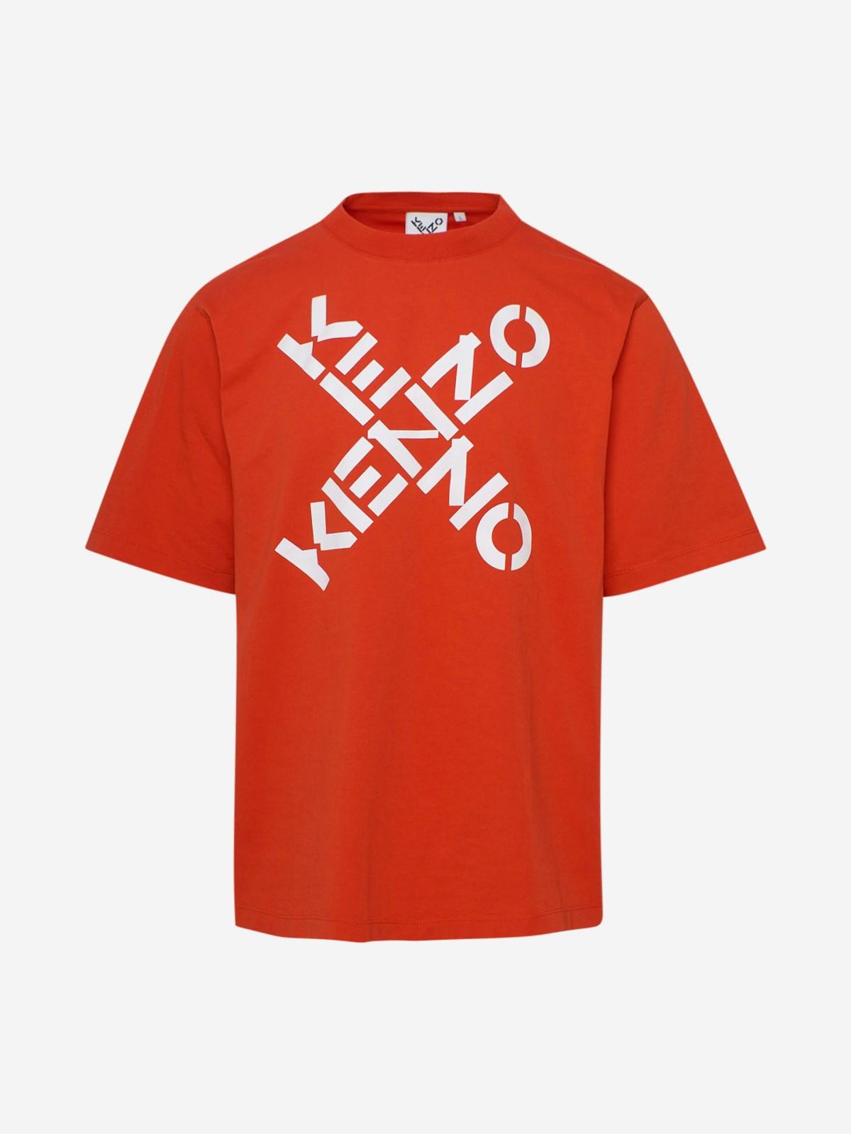 Kenzo T-shirts ORANGE T-SHIRT