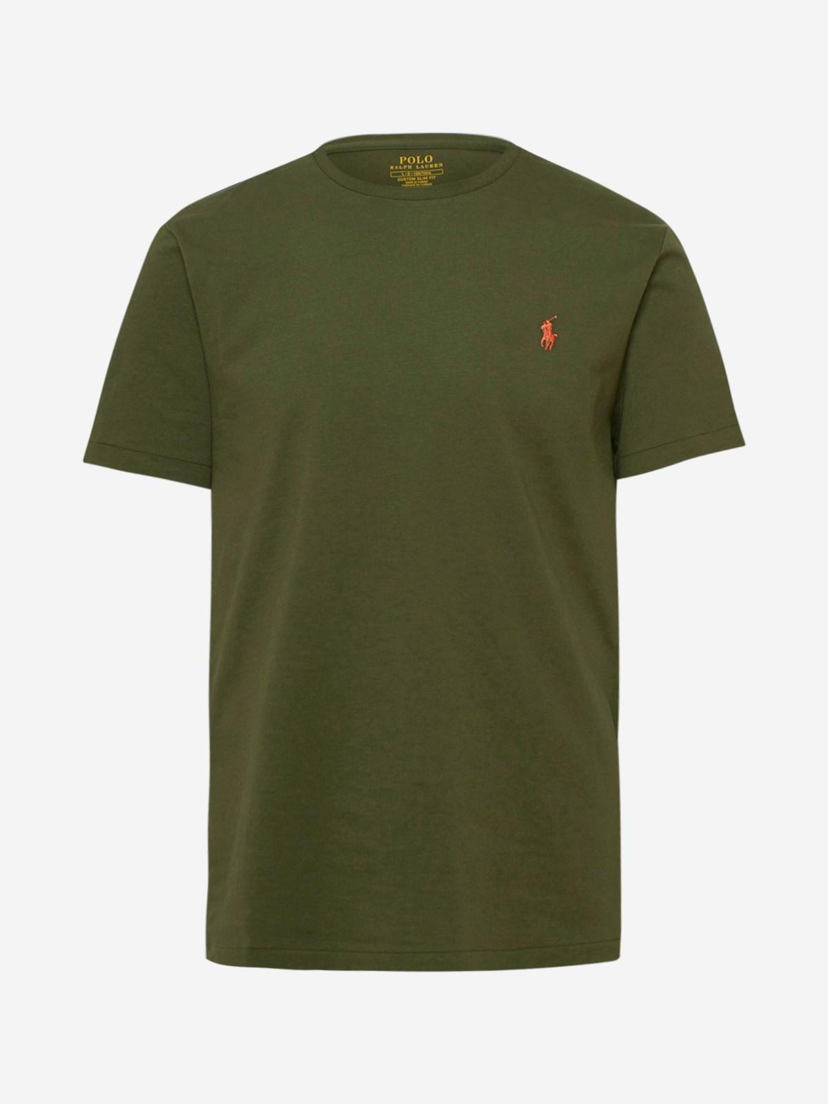 Polo Ralph Lauren T-shirts GREEN T-SHIRT