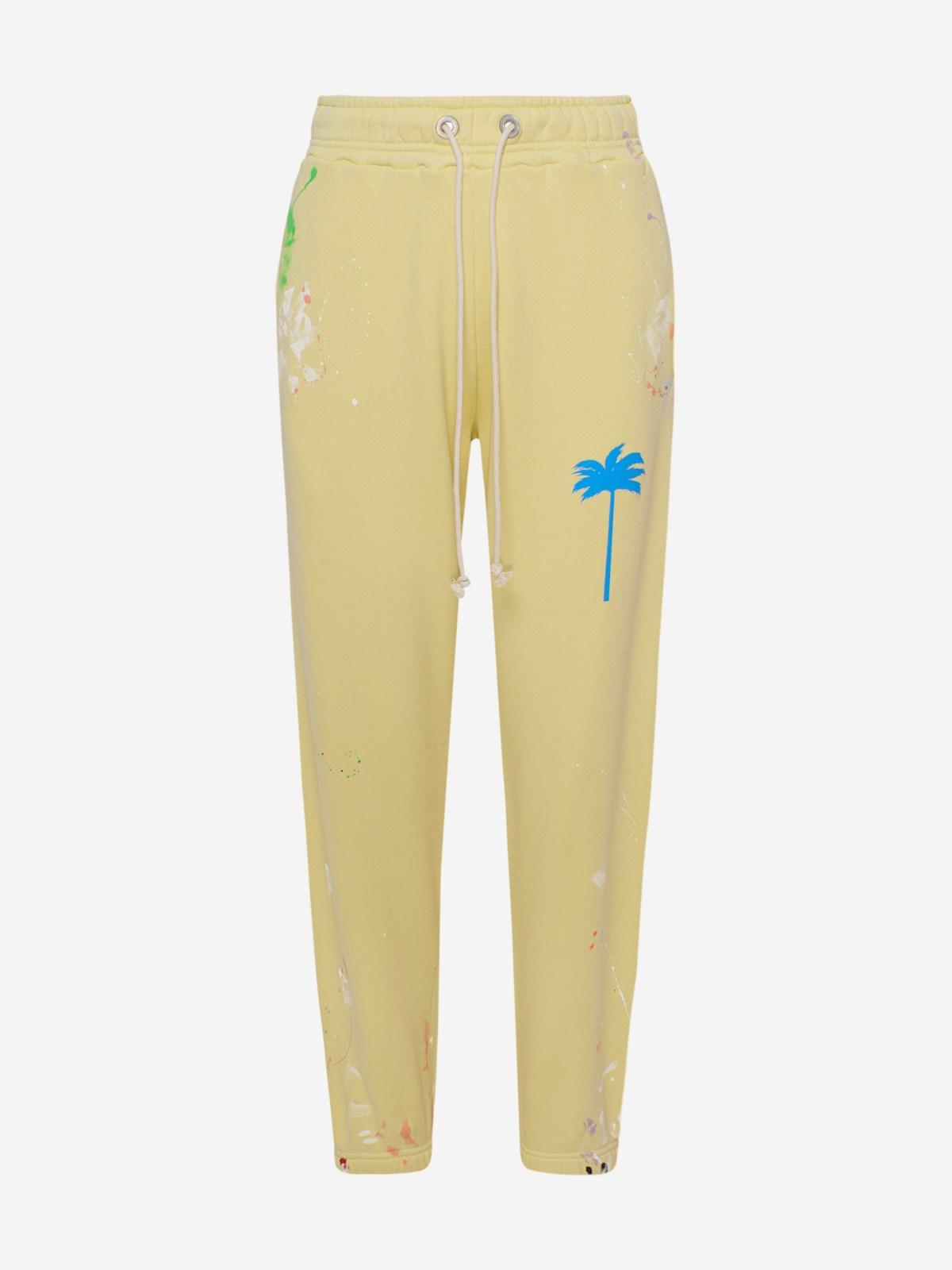Palm Angels Pants YELLOW PXP PANTS