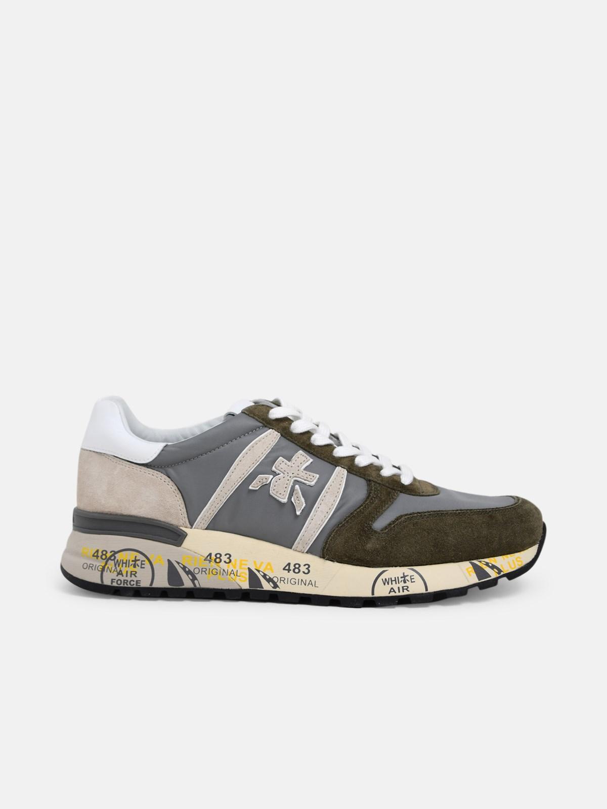 Premiata Shoes GREEN LANDER SNEAKERS