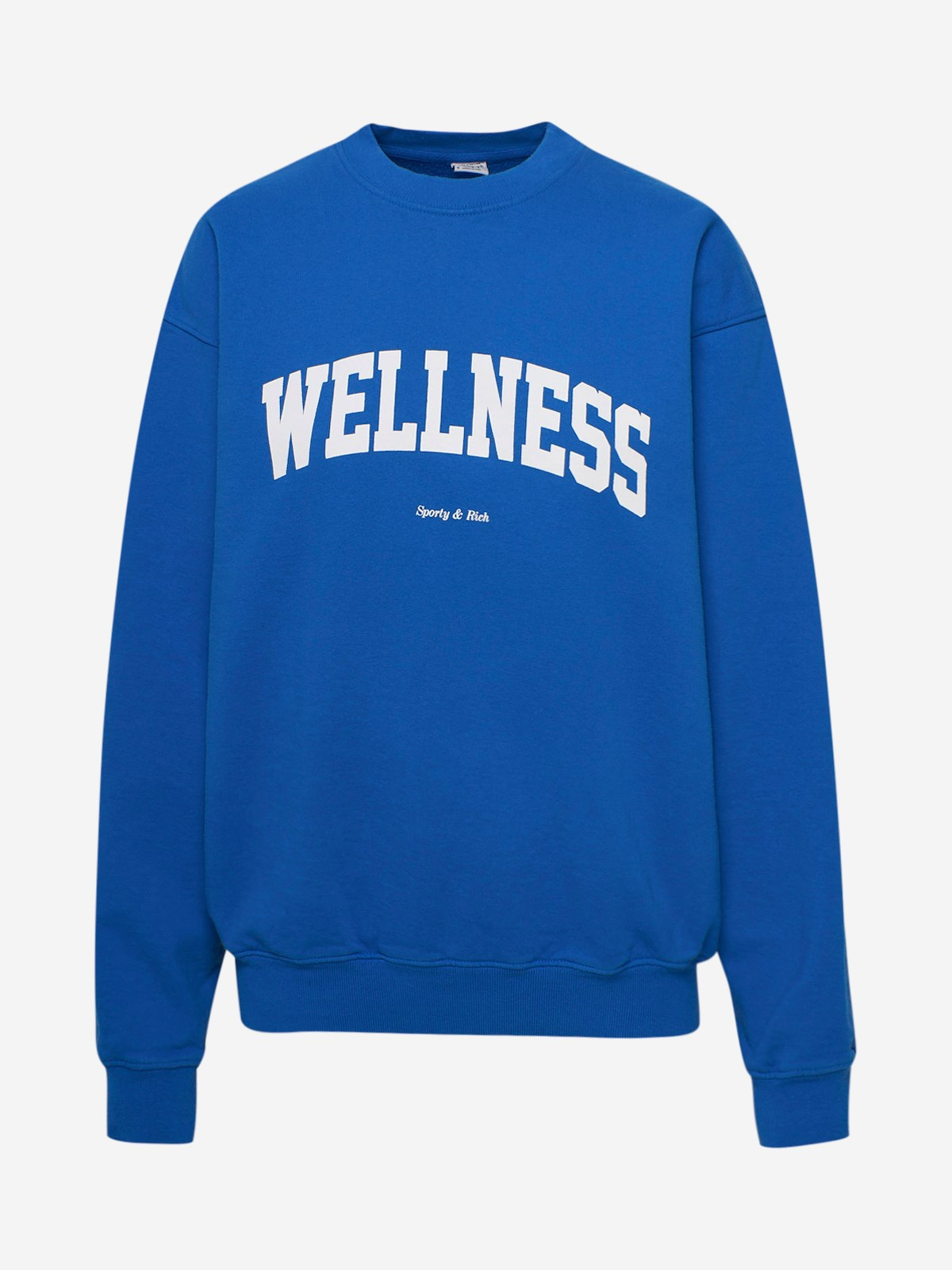 Sporty And Rich BLUE WELLNESS IVY T-SHIRT