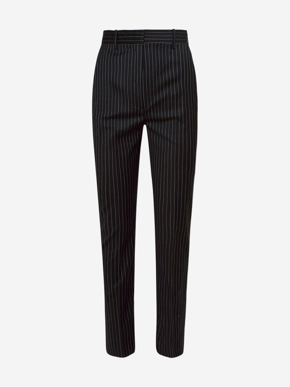 Sportmax Skinny pants PANTALONE LINCE NERO